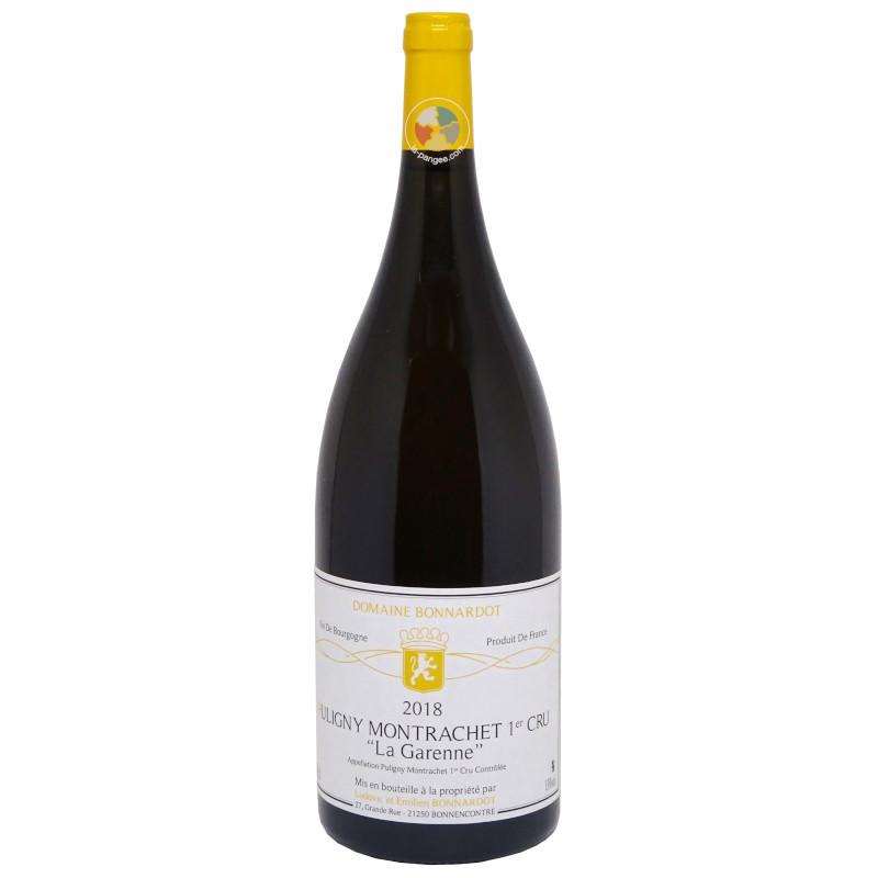 Puligny Montrachet 1er cru La Garenne 2018 Magnum - Bonnardot