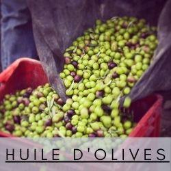 huile d'olives naturel