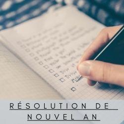 résolution de Nouvel An